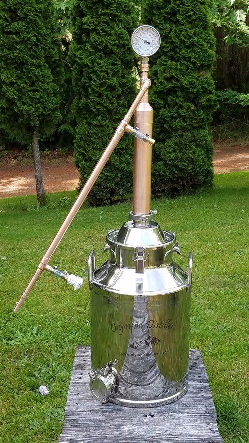 """2"""" Pot Still Do-it-yourself Kit in 2020   Moonshine still ..."""