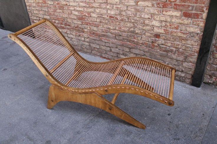 Chaise Longue by Jose Zanine Caldas