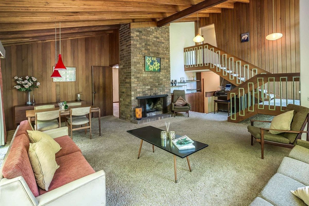 Untouched 1970's house in Victoria featuring original ...