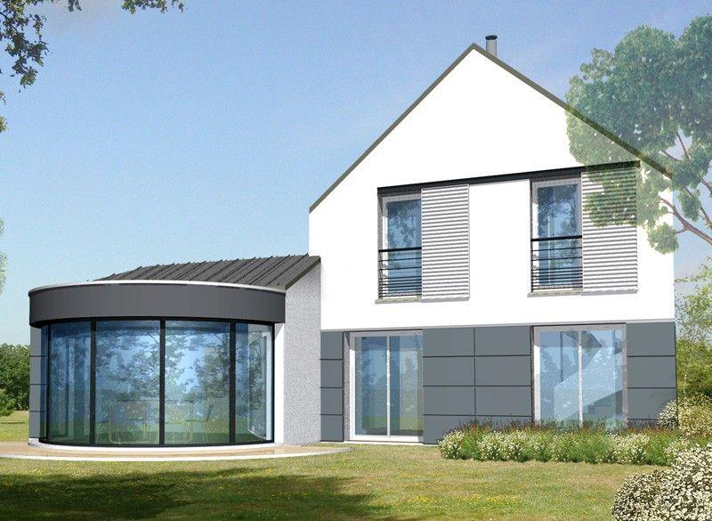 Constructeur de maison maison contemporaine avec patio 108,75 m² ...