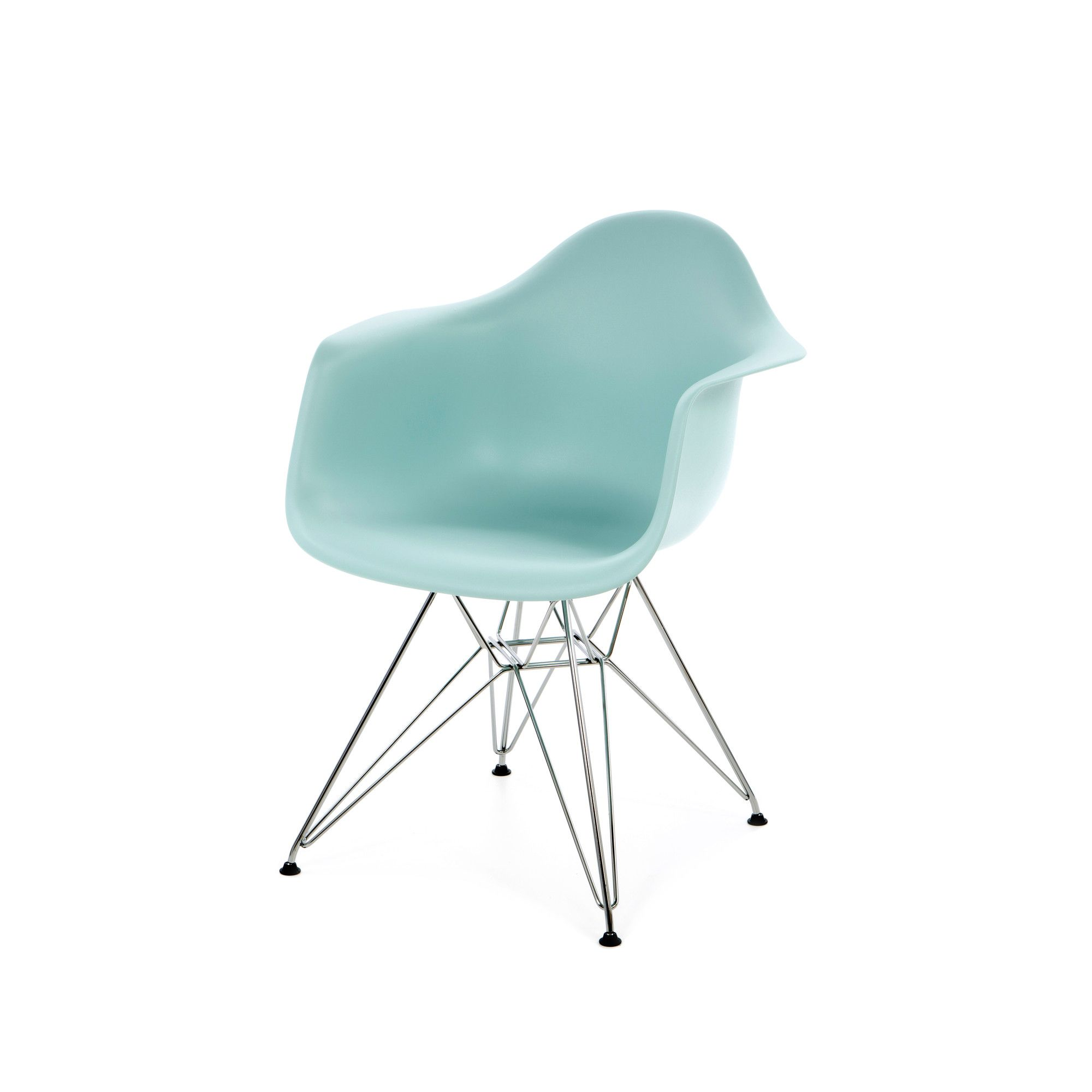 Herman Miller Eames Dar Molded Plastic Arm Chair With Wire Base Allmodern Chair Plastic Arm Chair Outdoor Lounge Chair Cushions