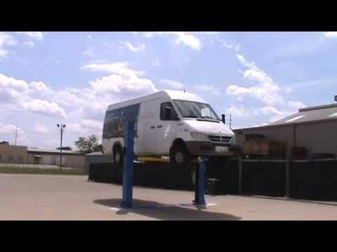 In This Video We Showcase The Atlas Bp 10000 Commercial Grade 2 Post Base Plate Lift Recreational Vehicles The Atlas Vehicles