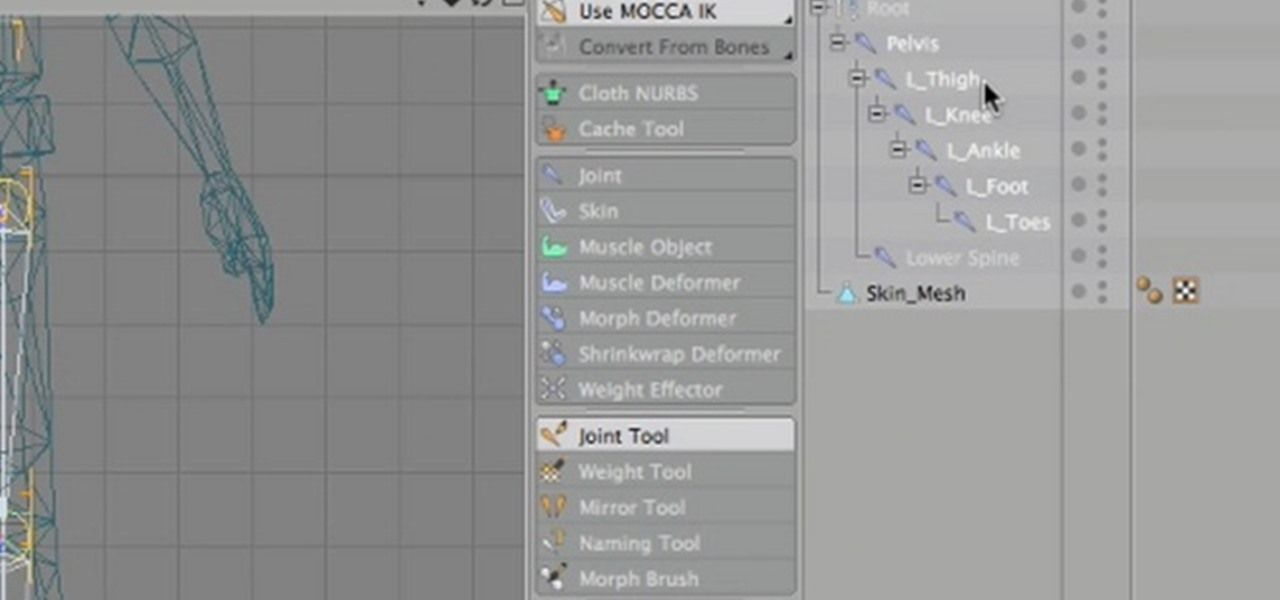How to Export an animated rigged character from Cinema 4D to