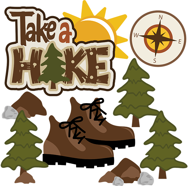 Take A Hike SVG Scrapbook Collection outdoors svg files camping ...