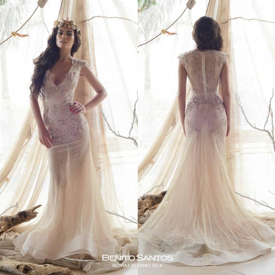 Wedding gown, Vestido de Novia, Benito Santos | Diseñador Mexicano ...