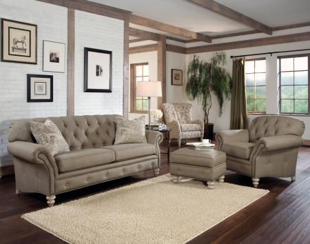 Smith Brothers Of Berne Inc Tufted Sofa Fancy Living Rooms