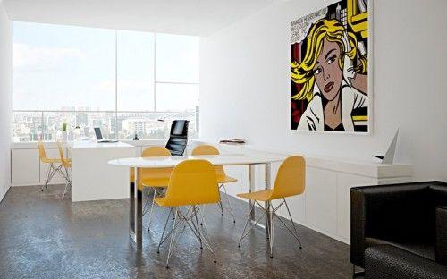Pop Art Vibe Office Interiors In Brazil