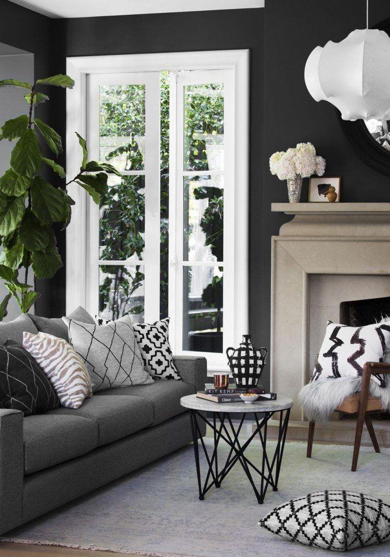 dark living room design sofa a home decor pinterest living rh pinterest com