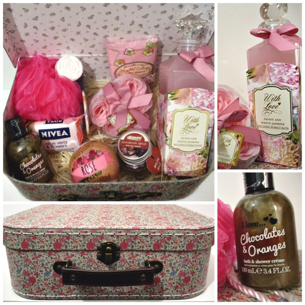 Ladies Luxury Hamper Mum Sister Aunt Wife Birthday Hamper