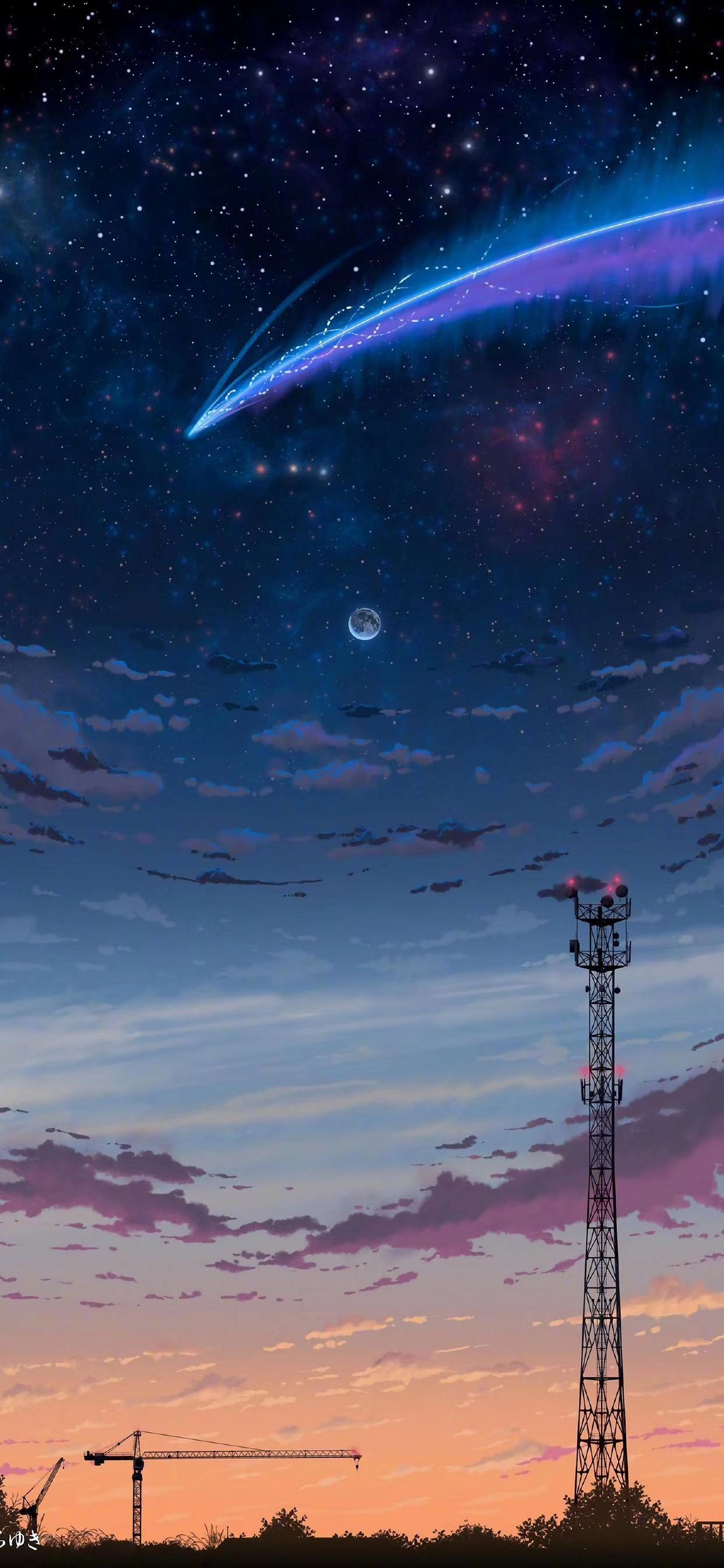 Fancy Wallpaper Pemandangan Anime Pemandangan Khayalan Fotografi Alam