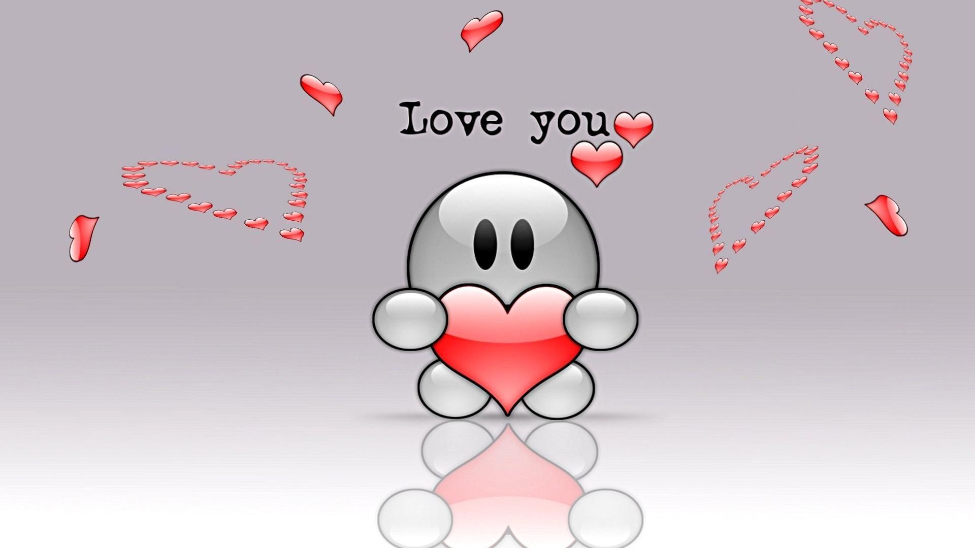 Love Cute Wallpaper Hd For Desktop 1920x1080 Cute Love Wallpapers Love You Cute I Love You Pictures