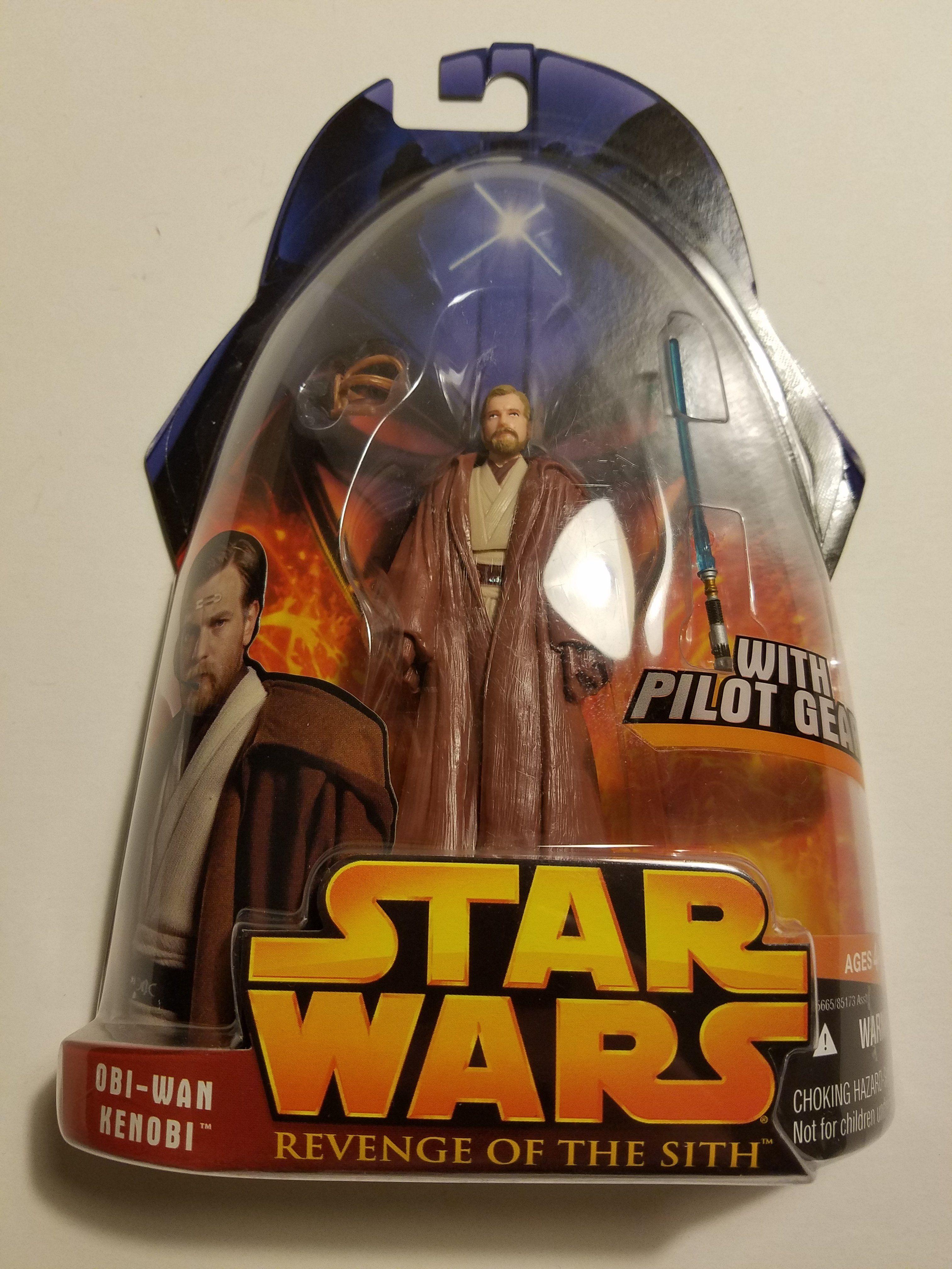 Star Wars Revenge Of The Sith Obi Wan Kenobi With Pilot Gear Kenobi Obi Wan Obi Wan Kenobi