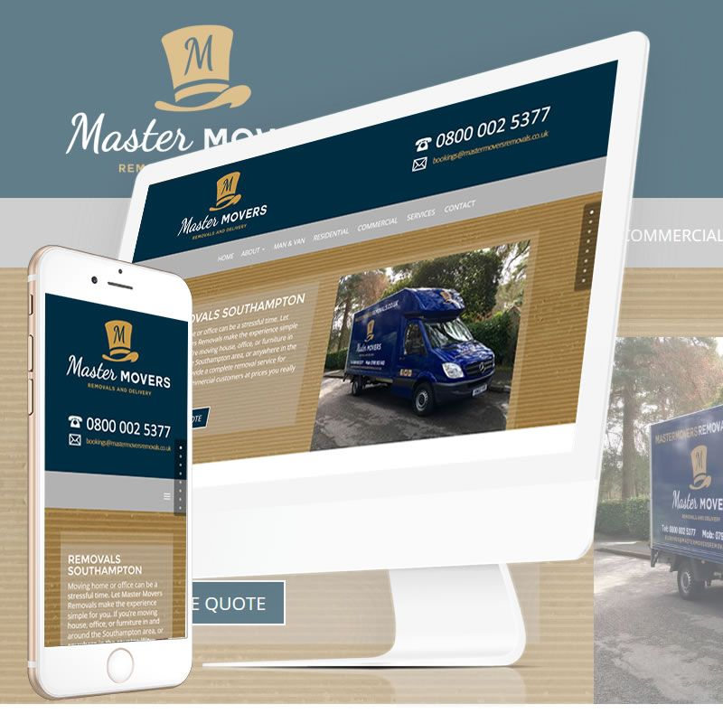 "The New Website for Master Movers Removals is now ""Live"" at http://mastermoversremovals.co.uk/"