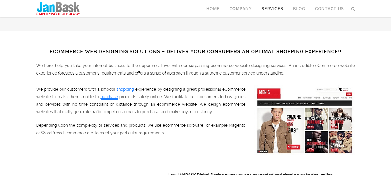 We can make the best ecommerce platform for you a successful
