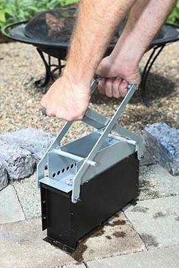 shredded paper log maker