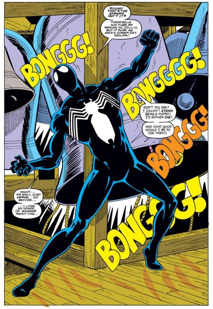 Black Spiderman Comic Using the churc...
