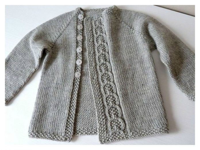 Olive You Baby Cardigan Free Knitting Pattern | Baby ...