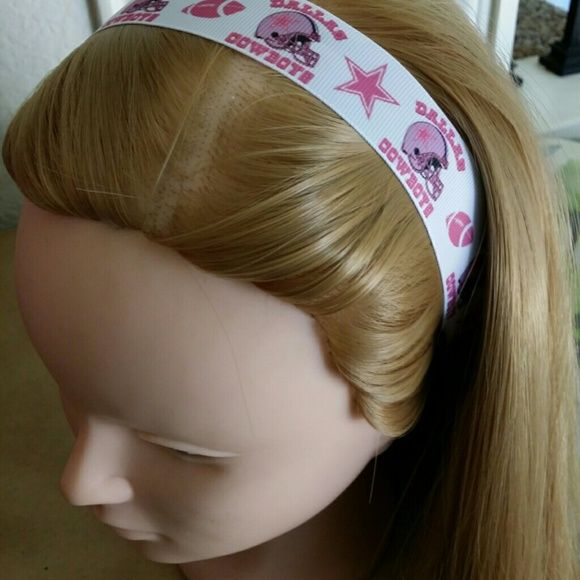 BOGO 1/2 off NWOT Non slip ribbon headband.  Ribbon length is  15 inches.  I have the hardest time with finding the right headbands.  They're either too small, too big, slip off and have to constantly be adjusted, and I'm also tender headed so they hurt if I wear them for a long period of time.  These bands are just perfect.  I can wear them while I work out I don't have to worry about them slipping and they don't hurt. Accessories