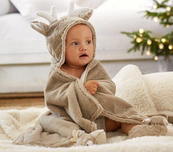 Reindeer Critter Bath Wrap   L I T T L E M A N   Pinterest   Babies ...