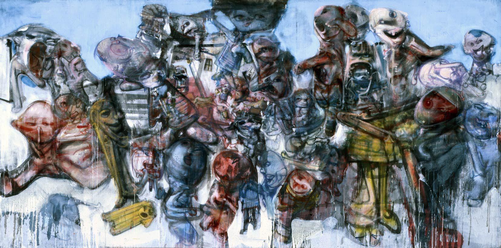 Scène de guerre, 1997-1999 | Les arts, Peinture, Comment peindre