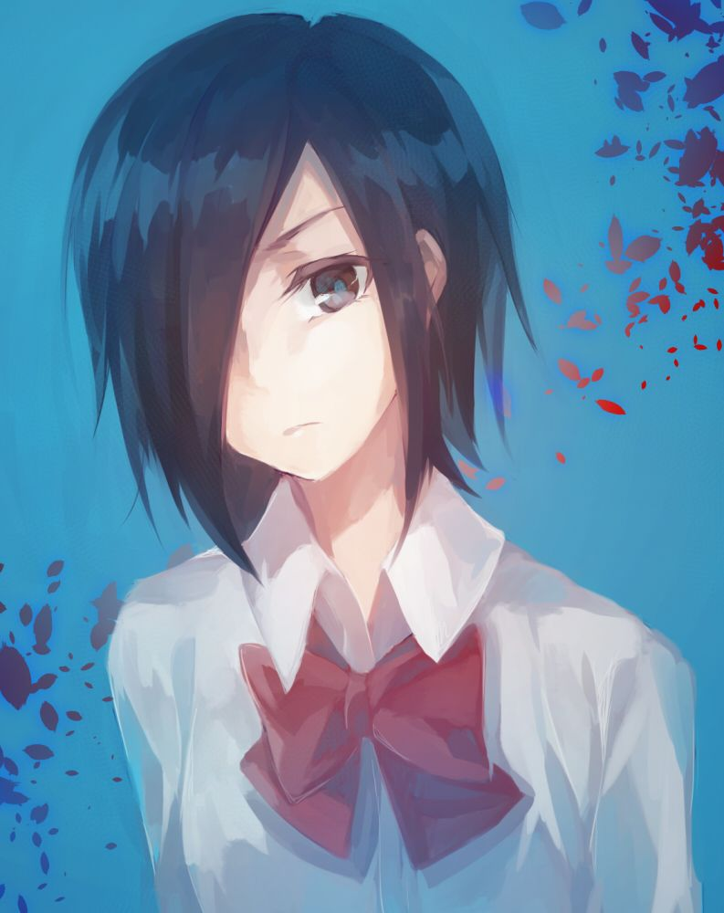 Anime characters that are just like pjo characters  --Thalia: Kirishima Touka from Tokyo Ghoul