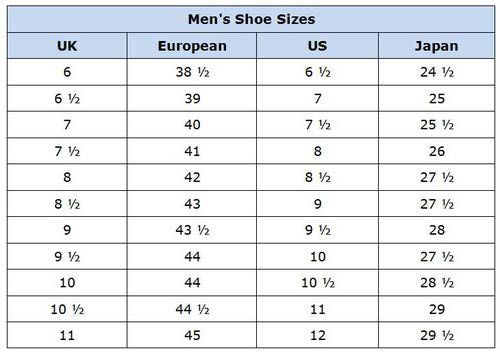 Men   shoes size conversion chart also women international shoe canada rh pinterest