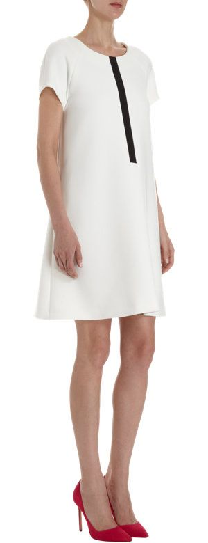 Lisa Perry Contrast Inset Dress at Barneys.com
