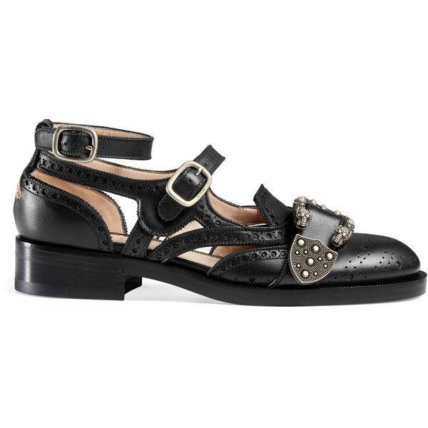 Gucci Queercore Brogue Monk Shoe found