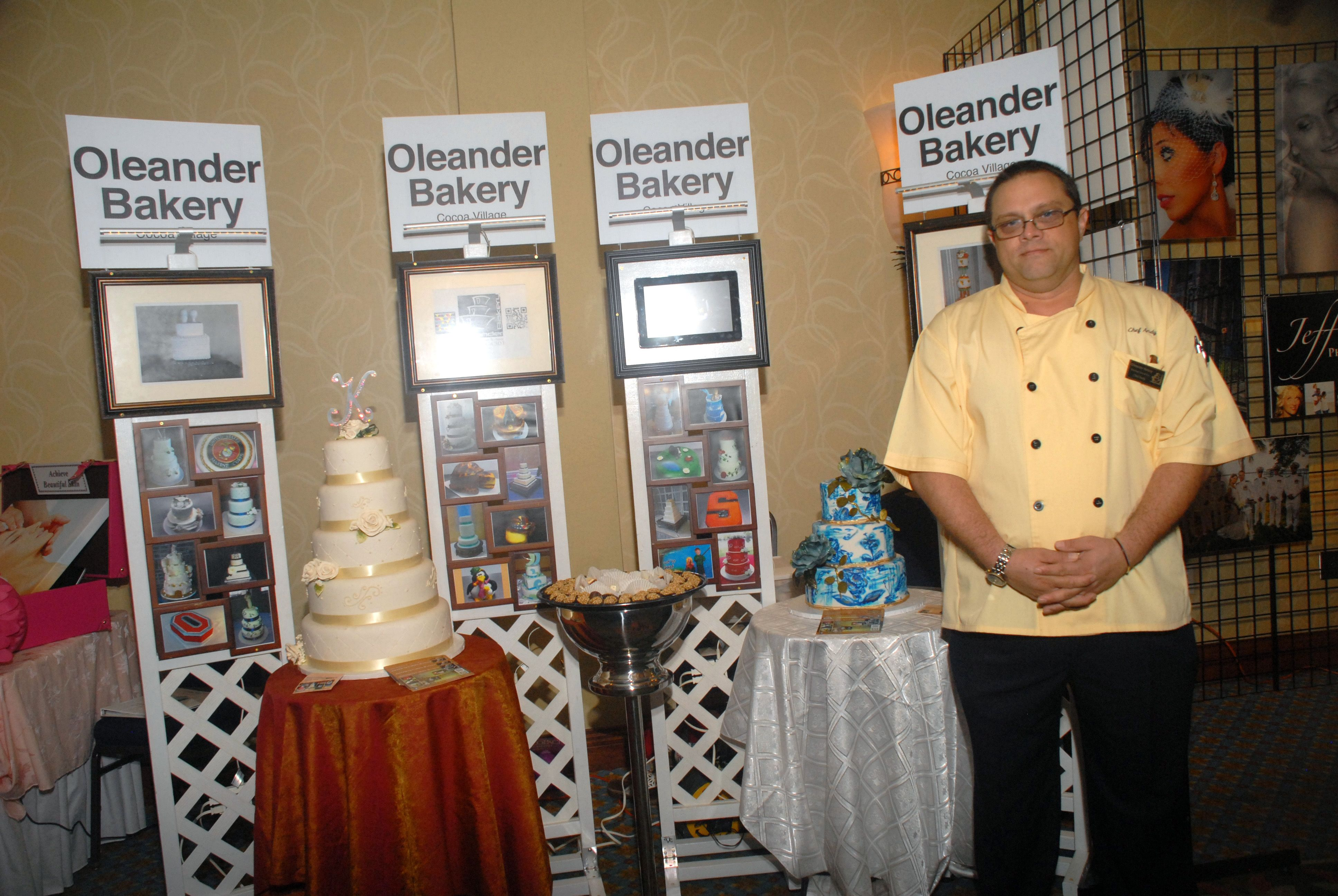 Andy heiniger of oleander bakery in cocoa village he is