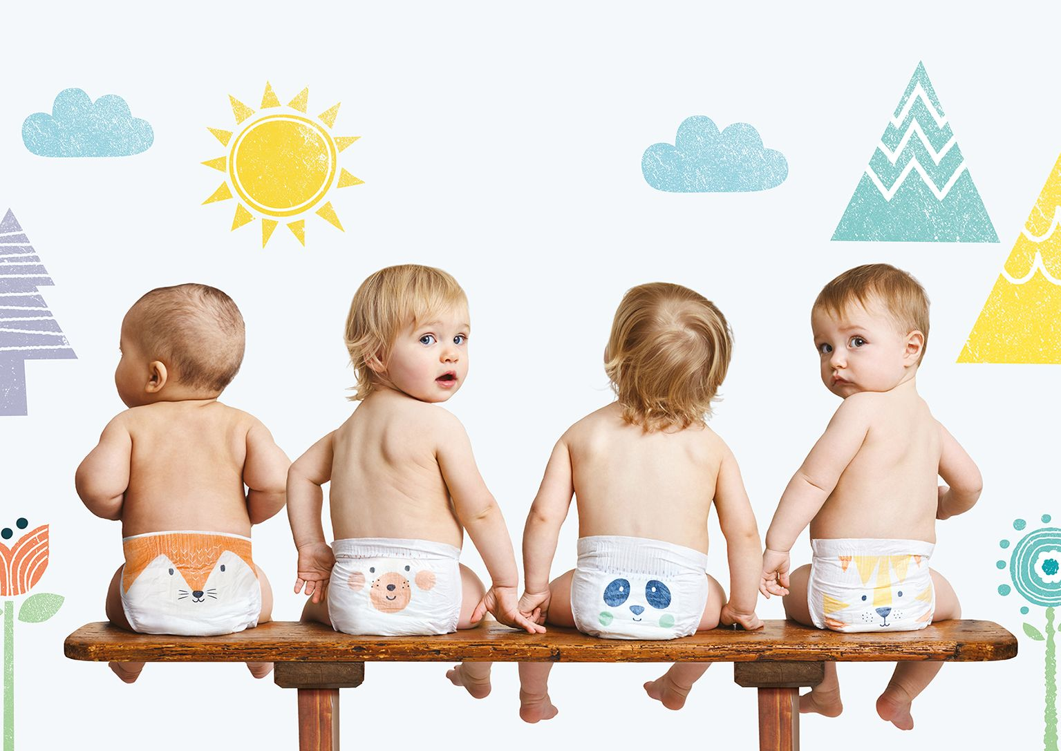 Your Baby Will Love These Eco Friendly Nappies Baby Ads Diaper Design Baby Products Packaging