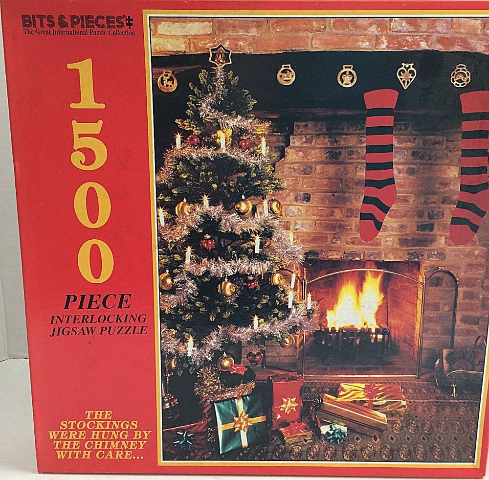 New sealed puzzle bits pieces 1500 pieces stockings were hung by new sealed puzzle bits pieces 1500 pieces stockings were hung by the chimney bitspieces publicscrutiny Image collections