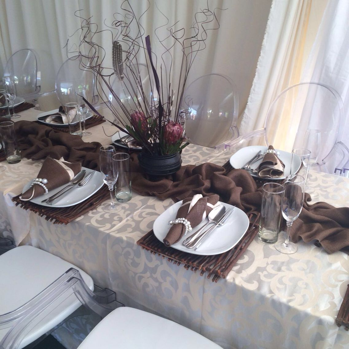 Tswana traditional wedding decor 2018  Alfred Mpapate mpapate on Pinterest