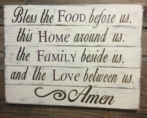 Kitchen Sign Kitchen Decor Christian Home By SouthernChicMania