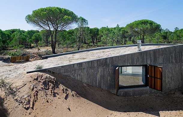 Underground House Plans Your Underground Home Plans Will Usually Include Fewer Materials Than Underground Homes Earth Sheltered Homes Dunes House