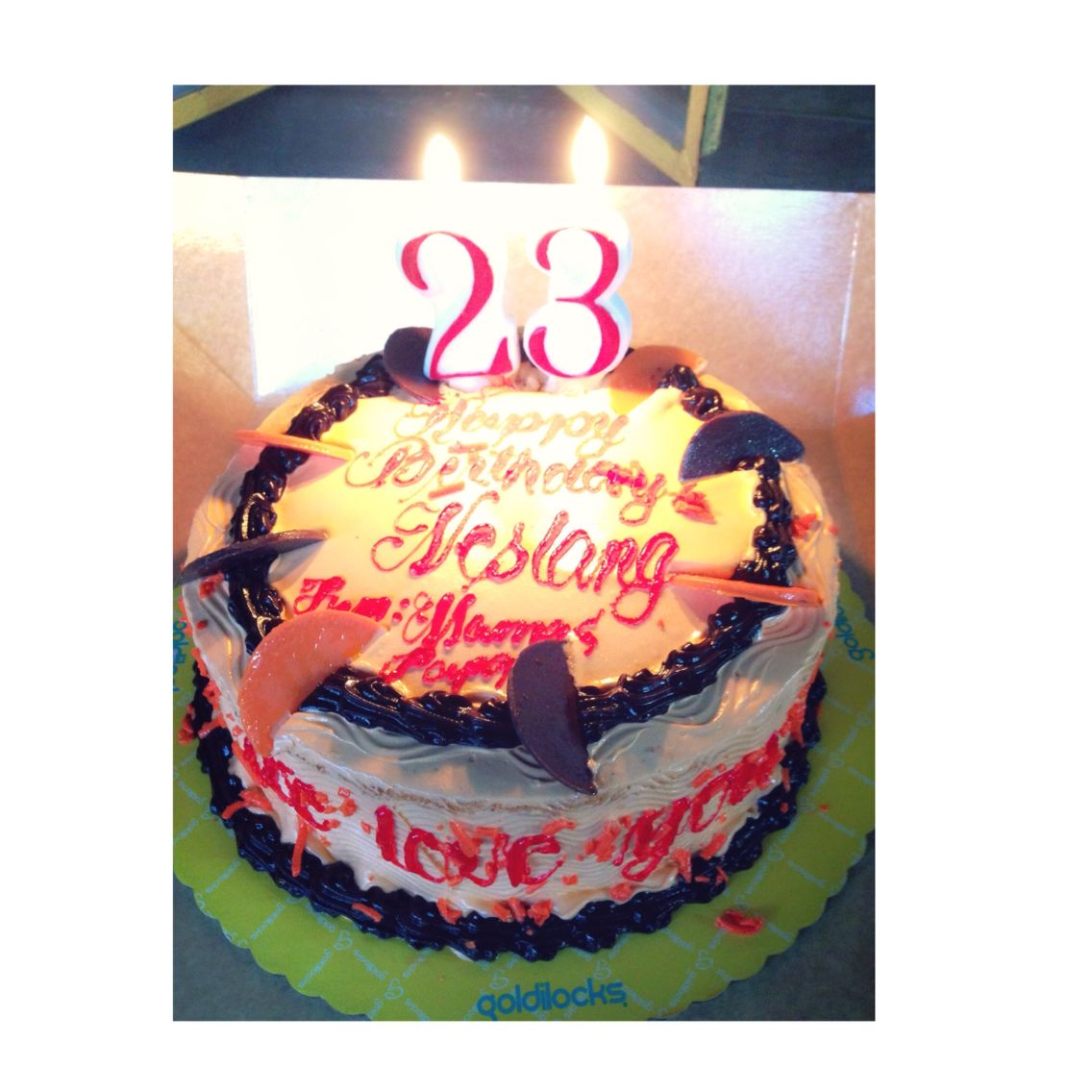 Birthday cake 23 birthday cake foodgasm pinterest 23rd birthday cake 23 birthday cake thecheapjerseys Gallery