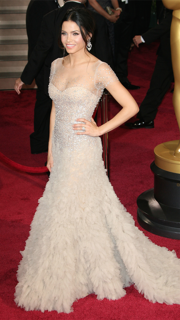 Jenna Dewan Tatum in Reem Acra at the Academy Awards 2014 | Red ...