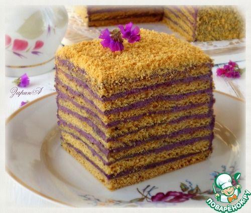 """Торт медовый """"Кадриль"""" - кулинарный рецепт"""