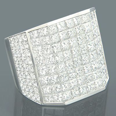 This Designer Expensive Mens Diamond Rings Collection Piece weighs