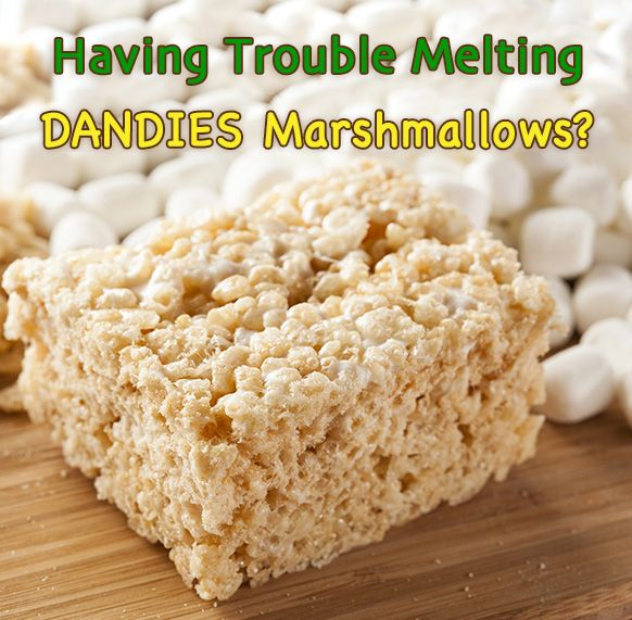 The Scoop on Melting Dandies Marshmallows Recipe
