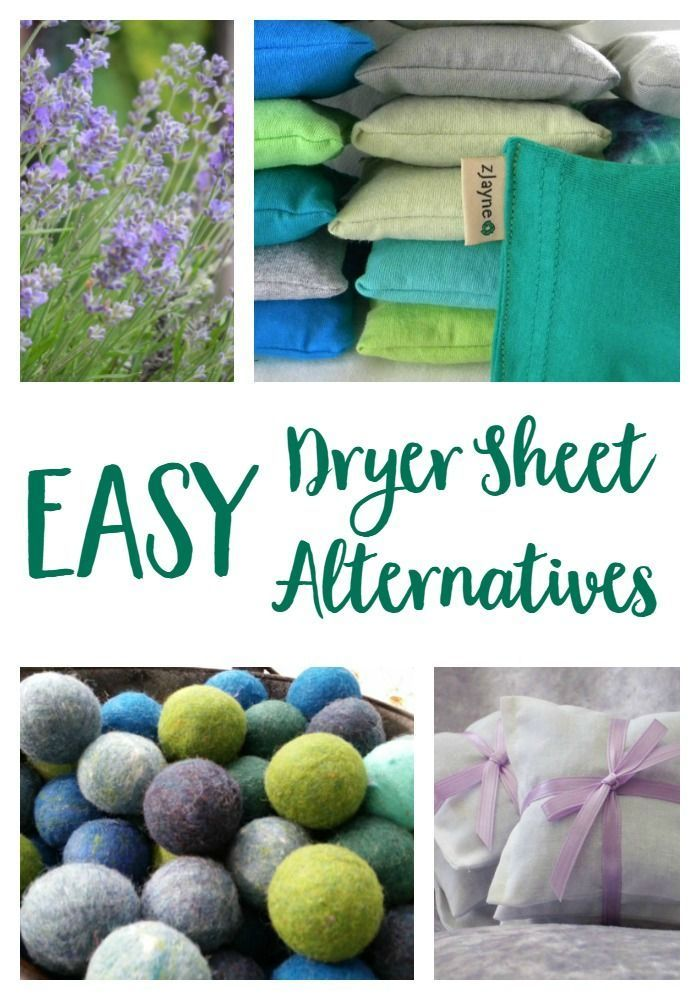Non Toxic Dryer Sheet Alternatives For Naturally Fresh Laundry