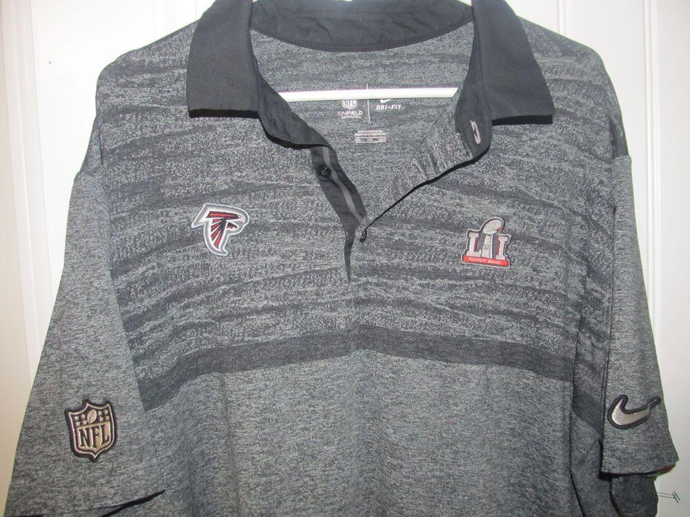 quality design af738 b922b Atlanta Falcons Super Bowl LII polo shirt - Nike Dri Fit ...