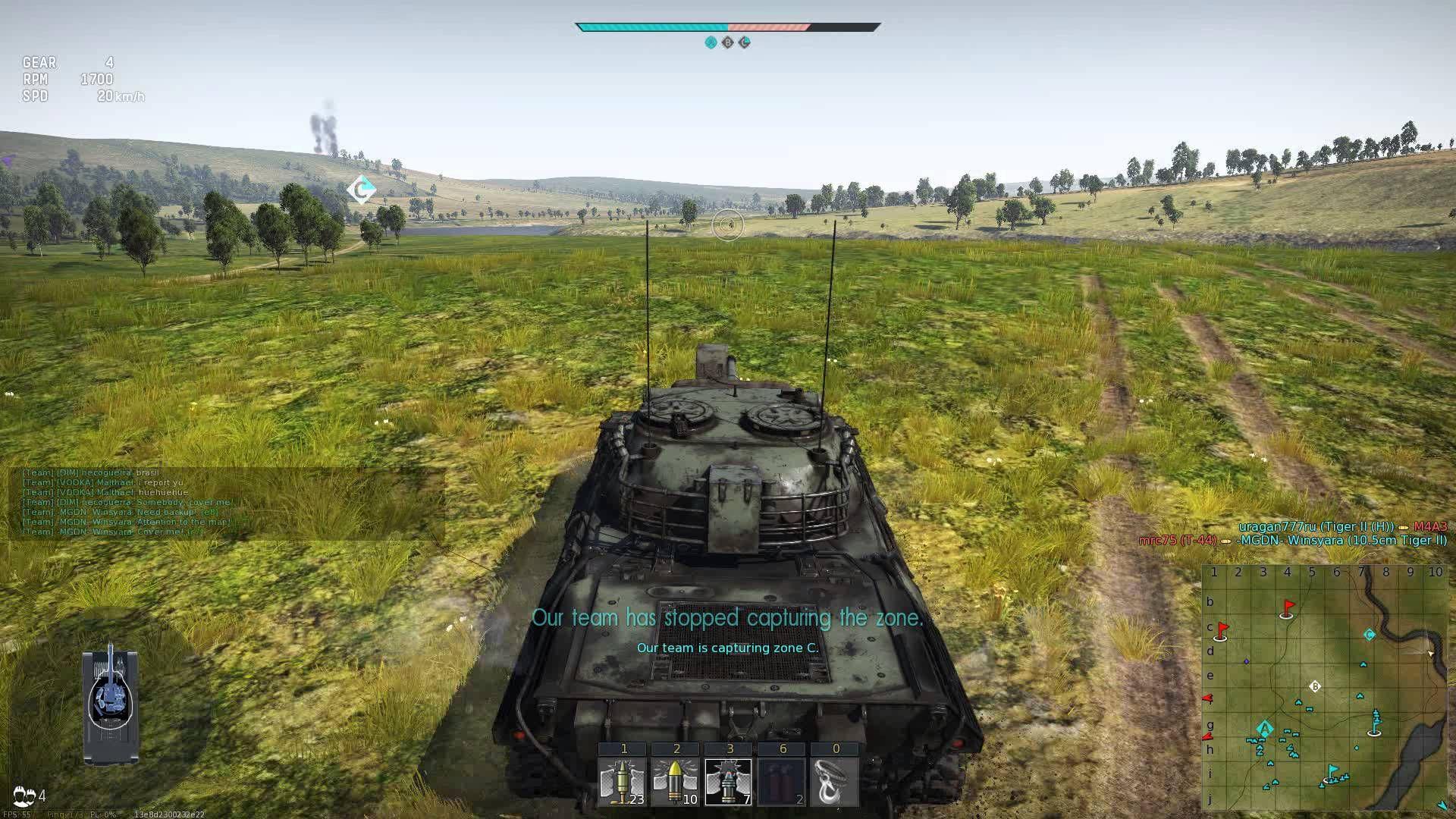 thunder war gameplay