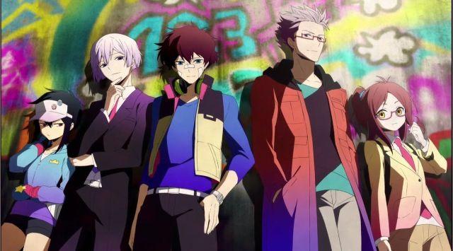 Hajime, Art, Nice, Murasaki, and Koneko