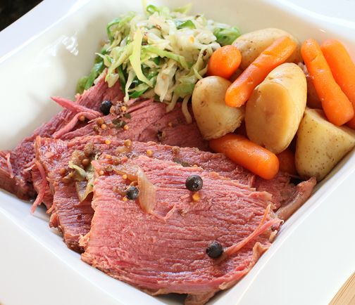 St Patrick S Corned Beef Cabbage Electric Pressure Cooker Recipe