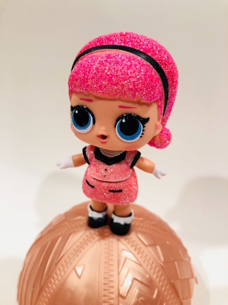 BARE DOLL  Rare LOL Surprise Dolls Series 3 PURPLE QUEEN Glitter Toys Girls Gift