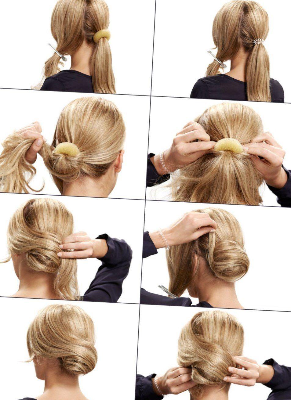 Festliche Einfache Frisuren Hairtutorial Festliche Hochsteckfrisur