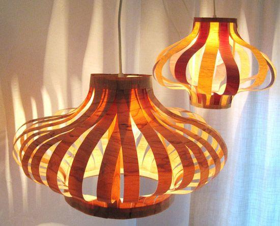 Tutorial Veneer Pendant Lights Diy Pendant Light Diy Pendant