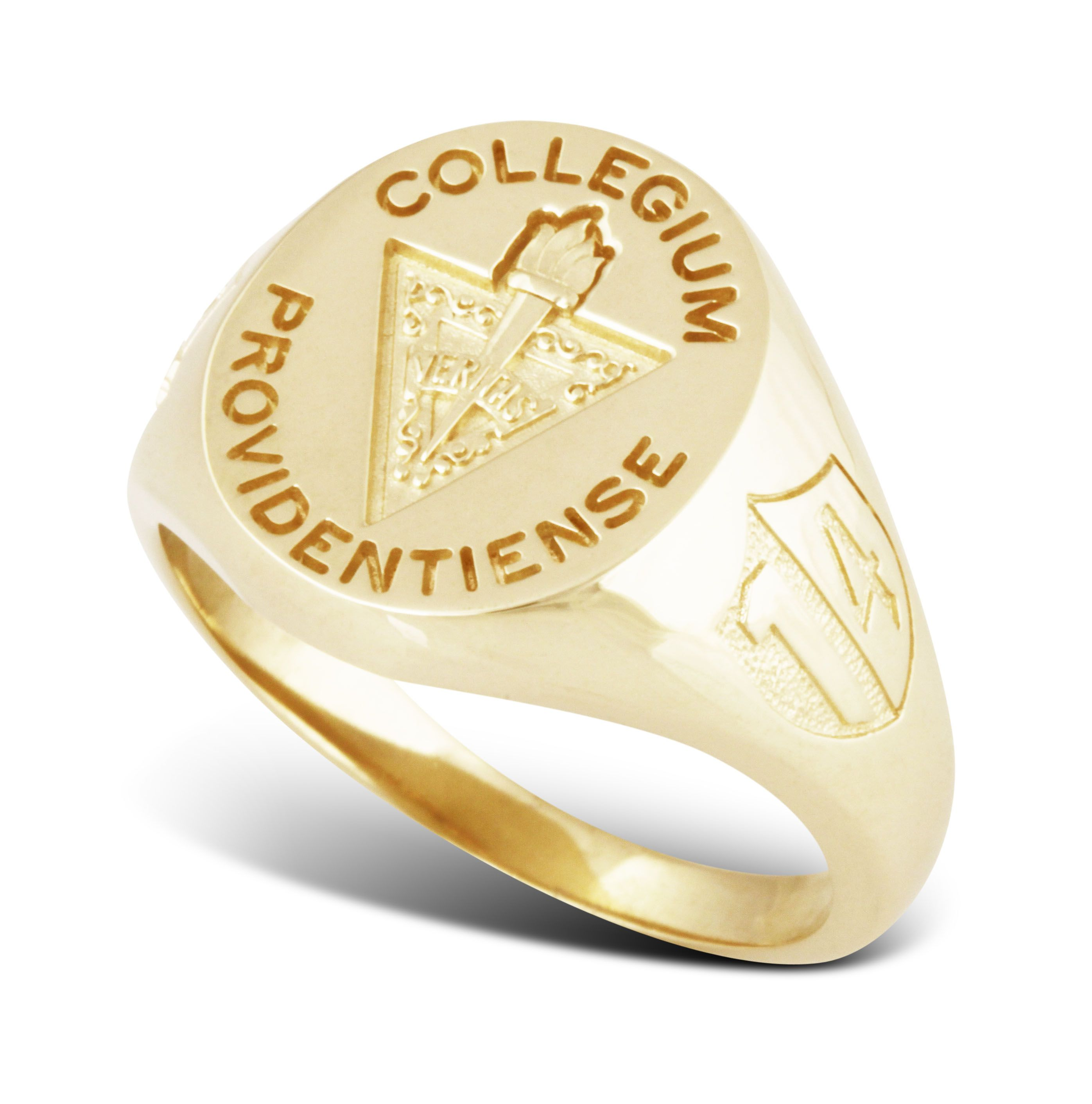 pt oval gold rings category collegiate salle college sbmai untitled la saint of bsn class ring university product