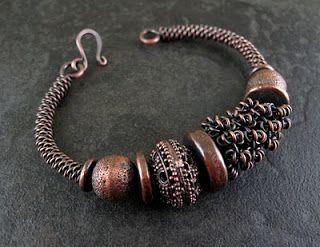Wickwire Jewelry: Week 27-Copper Bangle