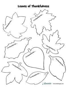 Easy Fall Craft Idea: Leaves of Thankfulness